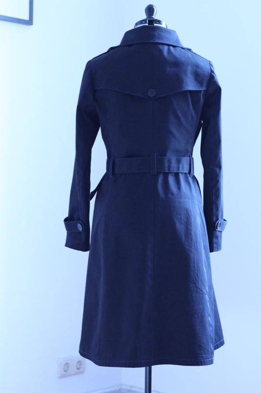 Der Robson Coat von Sewaholic – Twill & Heftstich